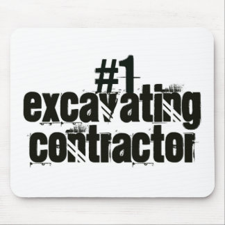 Excavating Contractor Mouse Pad