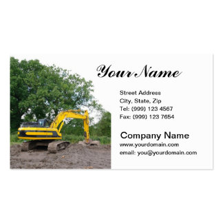 Excavation Business Card