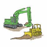 Excavator and Dozer