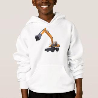Excavator Kid's Hoodie