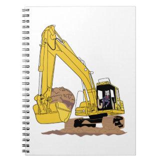 Excavator Notebook