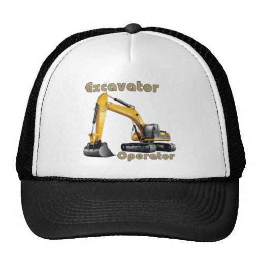 Excavator Operator Trucker Hat