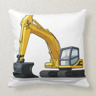 Excavator Pillow