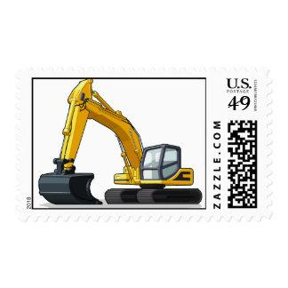 Excavator Postage