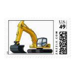 Excavator Stamp