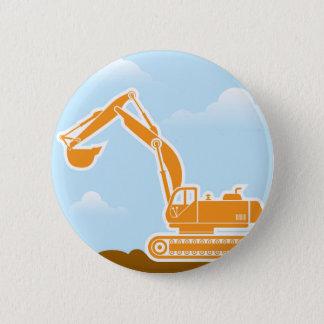 Excavator Vector Button