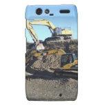 Excavators Motorola Droid RAZR Cover