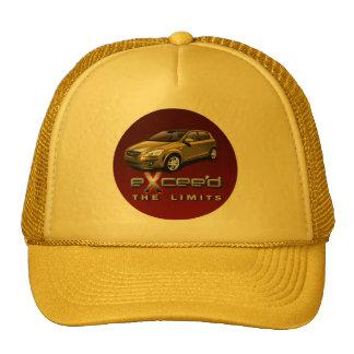 exceda el gorra del oro