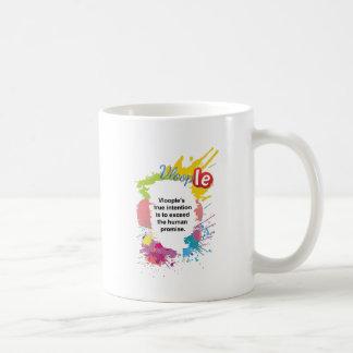 exceda la promesa humana taza de café
