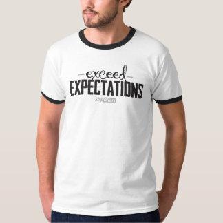 Exceda las expectativas polera