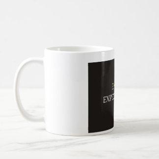 Exceda las expectativas taza de café