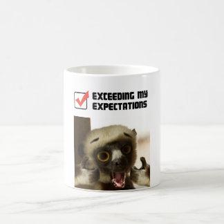 Exceder mis expectativas taza