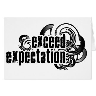 Exceed-Expectations Card