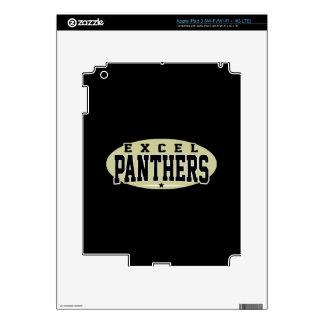 Excel High School; Panthers iPad 3 Skins
