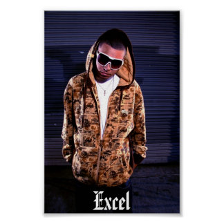 excel poster