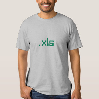 Excel Spreadshirt Camisas