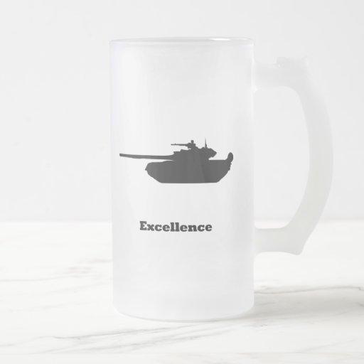 Excelencia del tanque taza de café