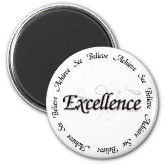 Excelencia - vea que creer alcance imán redondo 5 cm