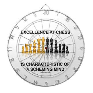 Excellence At Chess Characteristic Scheming Mind Dart Board