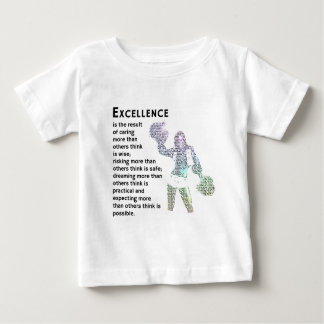 Excellence - Cheer Phrase Baby T-Shirt