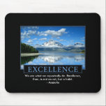 "Excellence Inspirational Mouse Pad<br><div class=""desc"">This inspirational mouse pad can be customized with any quote you would like.</div>"