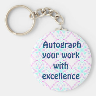 excellence keychain