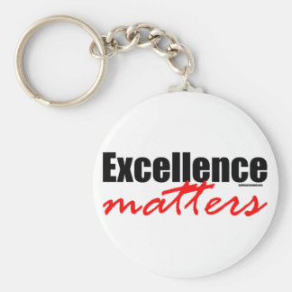 Excellence Matters Keychain