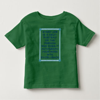 excellence toddler shirt