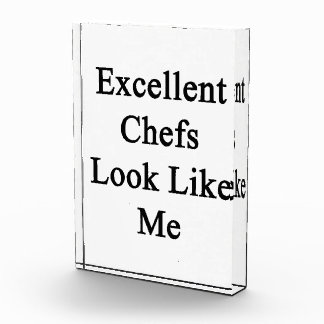 Excellent Chefs Look Like Me Award
