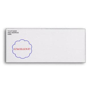 Excellent! Envelope