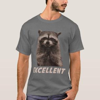 Excellent Evil Plotting Raccoon T-Shirt