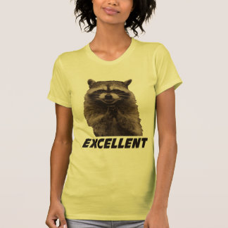 Excellent Evil Plotting Raccoon T Shirt