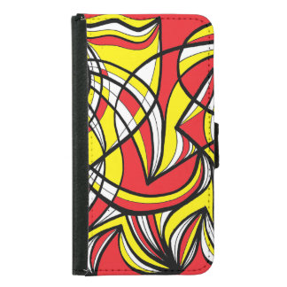 Excellent Favorable Broad-Minded Motivating Wallet Phone Case For Samsung Galaxy S5