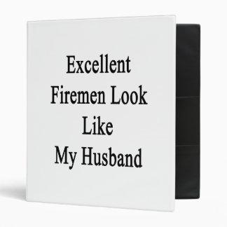 Excellent Firemen Look Like My Husband Vinyl Binder