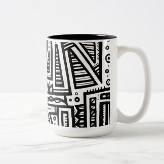 Excellent Joyful Delightful Clever Two-Tone Coffee Mug