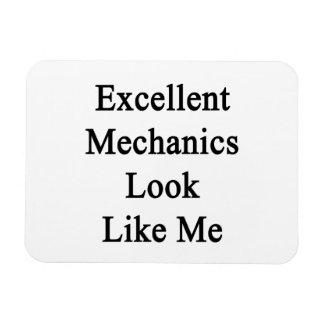 Excellent Mechanics Look Like Me Magnet
