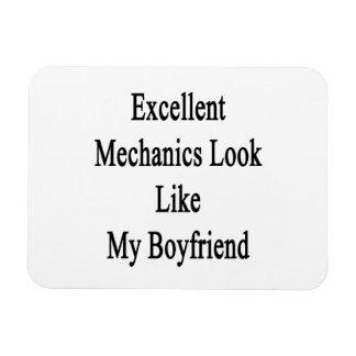 Excellent Mechanics Look Like My Boyfriend Rectangular Magnet