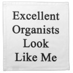 Excellent Organists Look Like Me Cloth Napkin