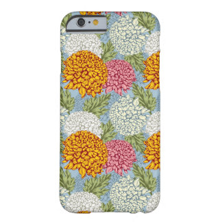 Excellent pattern with chrysanthemums barely there iPhone 6 case