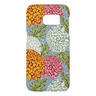 Excellent pattern with chrysanthemums samsung galaxy s7 case