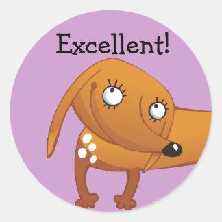 Excellent Reward Stickers - puppy