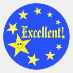 Excellent Stars School Stickers