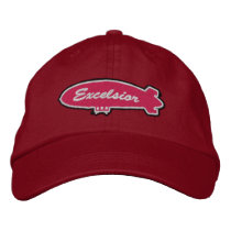Excelsior Crewcap Embroidered Baseball Hat
