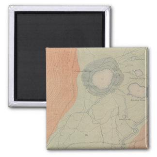 Excelsior Geyser Basin 2 Inch Square Magnet