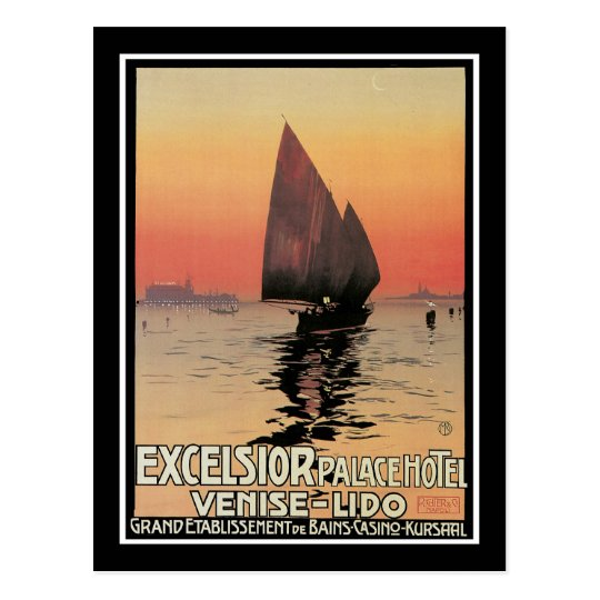Excelsior Palace Hotel: Venise-Lido Postcard