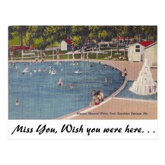 Excelsior Springs, Missouri Postcard
