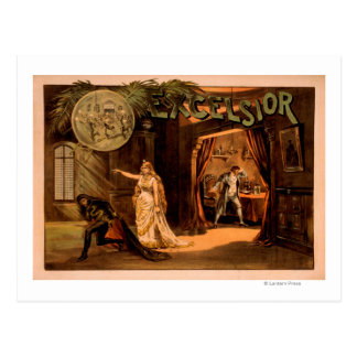 Excelsior Theatrical Play Poster #1 Postcard