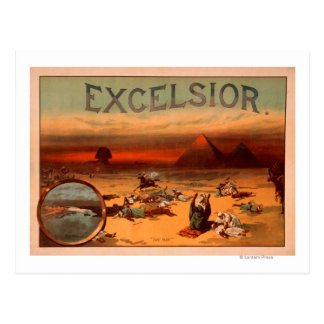Excelsior Theatrical Play Poster #2 Postcard