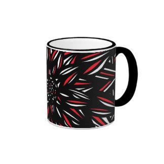 Excepcional brillante radiante bonito taza de dos colores