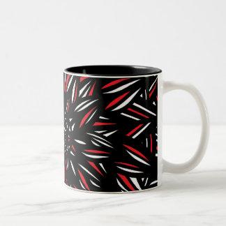 Excepcional brillante radiante bonito taza de dos tonos